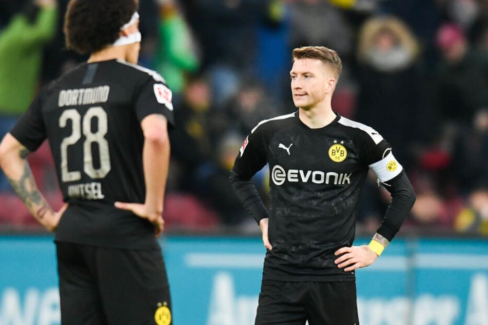 Ab kommender Saison mit 1&1 auf der Bundesliga-Brust: Marco Reus und der BVB.