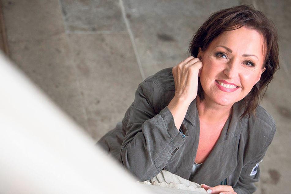 Auf der Bühne immer bester Laune: Ute Freudenberg (61).