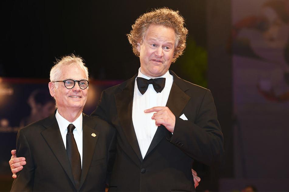 Florian Henkel von Donnersmarck (45, r.) mit seinem Kameramann Caleb Deschanel (73).