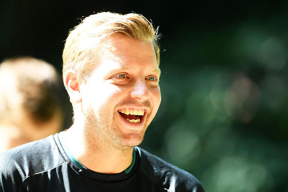 Florian Kohfeldt blickt wie seine Spieler zuversichtlich in die Zukunft.