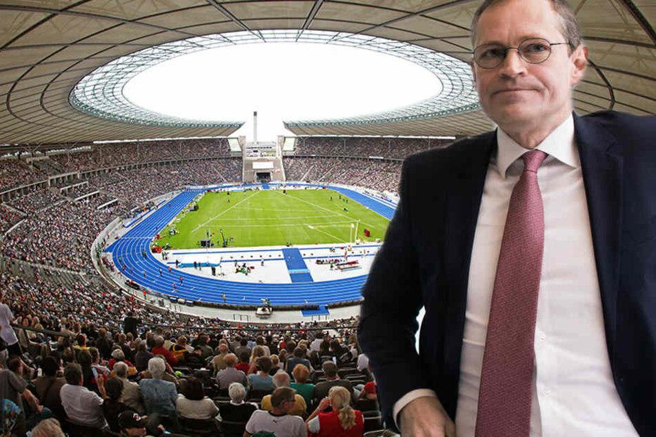 Bedeutet Olympiastadion-Umbau das Aus für die Leichtathletik?