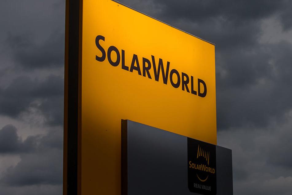 Die Solarworld AG hatte am 11. Mai 2017 Insolvenz angemeldet.