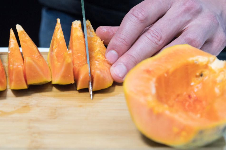 Exotische Früchte: Hauptexportland der Papayas ist mit großem Abstand Brasilien.