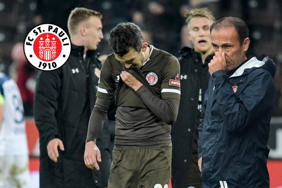 St. Pauli und Trainer Luhukay gegen Hannover 96 unter Druck