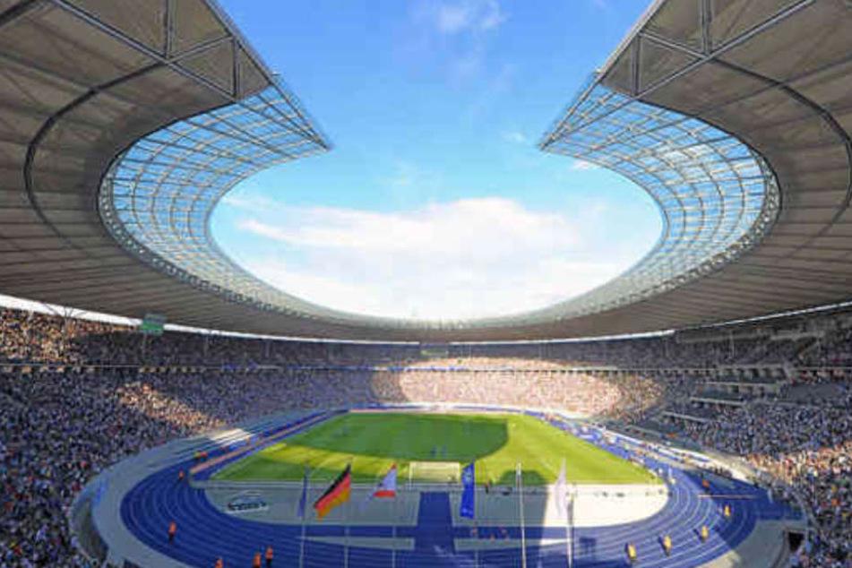 Die Parlamentarier bevorzugen einen Umbau des Olympiastadions.
