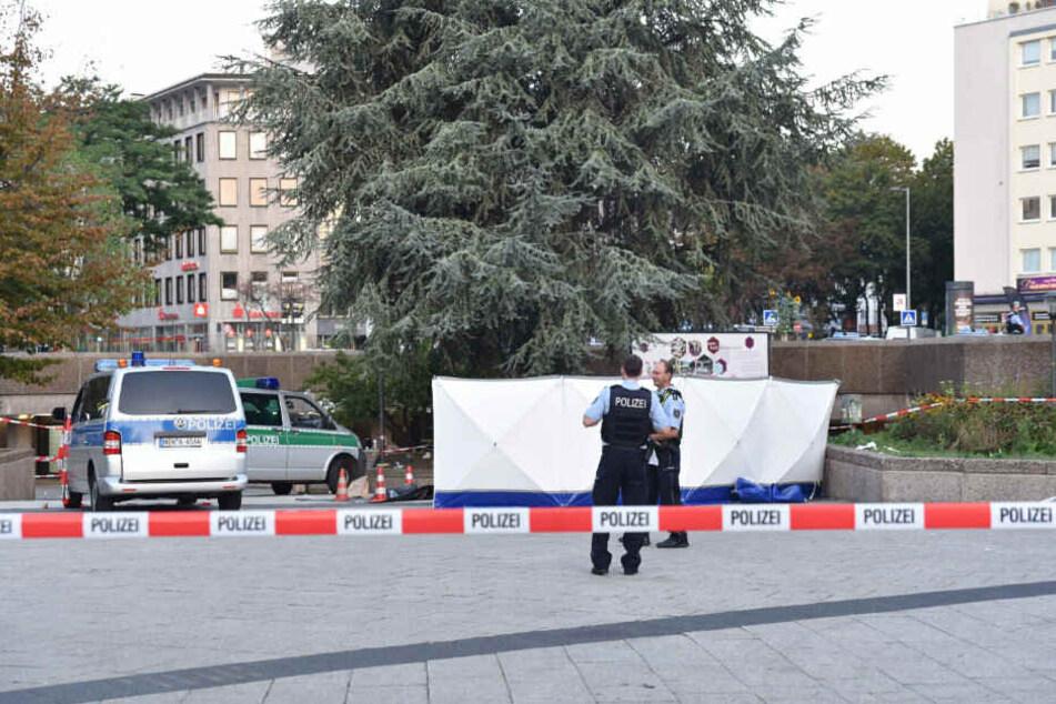 Am Ebertplatz kam am Sonntagmorgen ein 25-Jähriger ums Leben.
