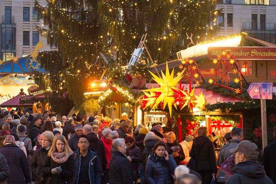 """Sachsens Weihnachtsmärkte mit ihren Tausenden Besuchern haben nach Einschätzung der Ermittler eine hohe """"Gefährdungsrelevanz""""."""