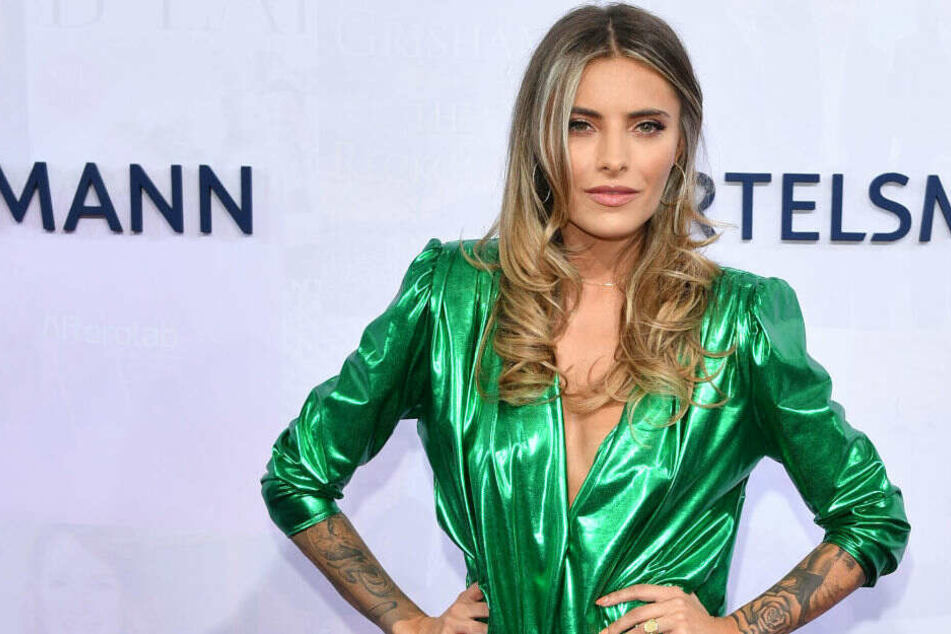 Sophia Thomalla kommt zur Bertelsmann Party.