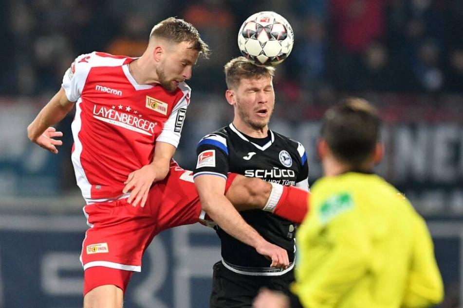 Seit den letzten fünf Auswärtsspielen hat Stürmer Fabian Klos gegen Union erstmals nicht getroffen.