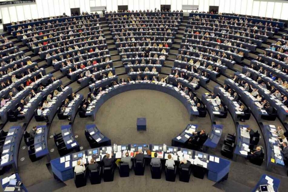 Das EU-Parlament.