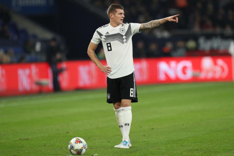 Toni Kroos kritisierte zuletzt die Stimmung während der Länderspiele.