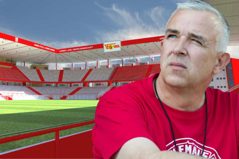 """""""Wir wollen weiter ein Stehplatzstadion sein"""", erklärte Zingler vor fast zwei Jahren."""