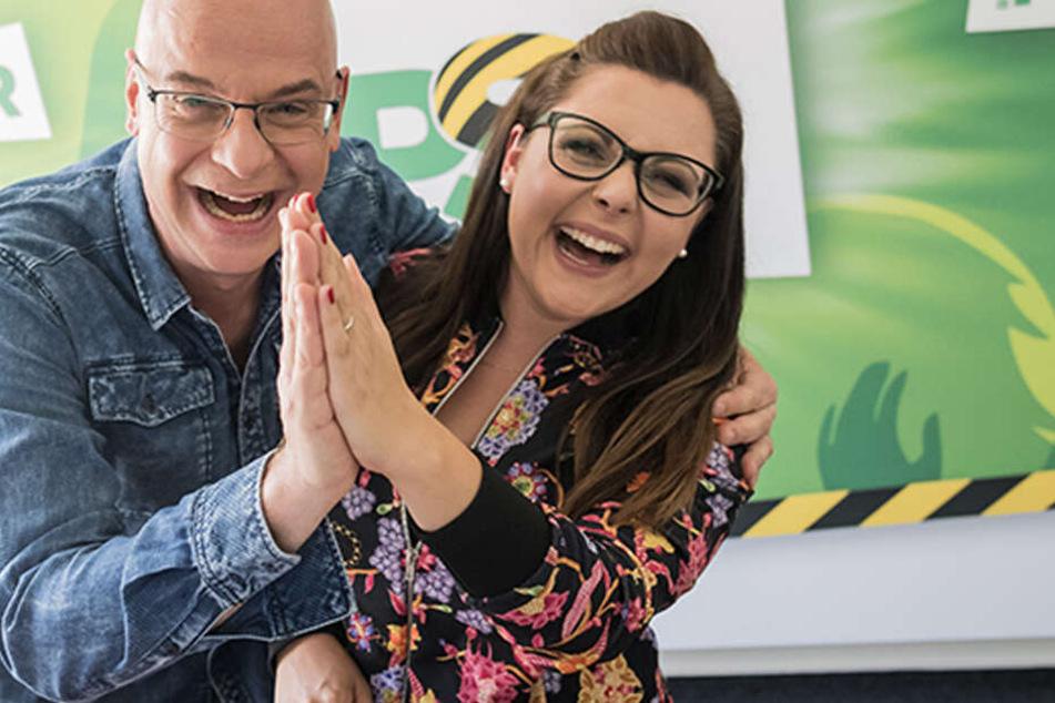 Radio PSR-Moderatoren Steffen Lukas und Claudia Switala schenken Euch zwei Monatsmieten!