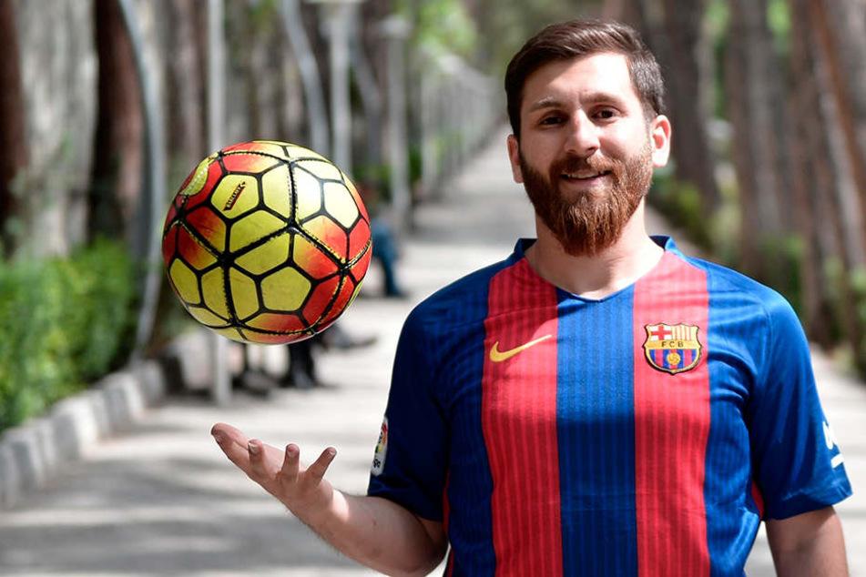Double von Lionel Messi in Moskau festgenommen