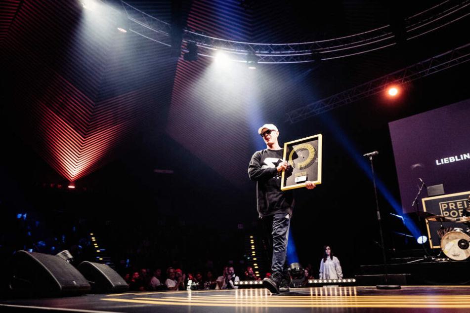 Rapper Trettmann (45) aus Chemnitz gewann bereits im vergangenen Jahr einen Preis für Popkultur.