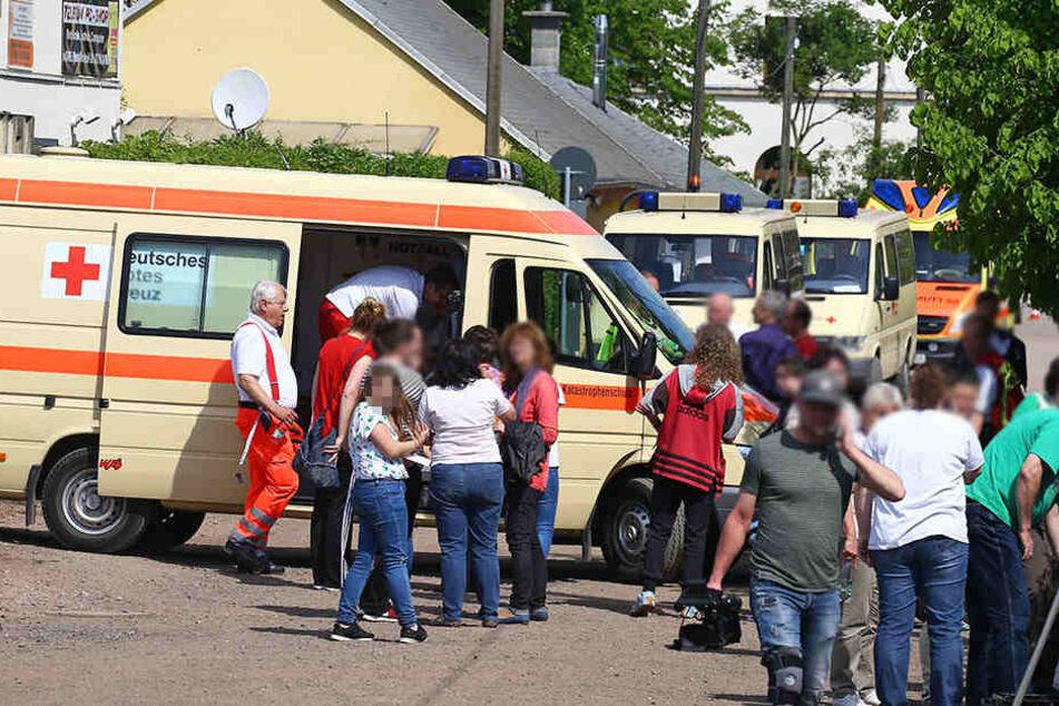 Insgesamt 40 Schüler mussten ins Krankenhaus.