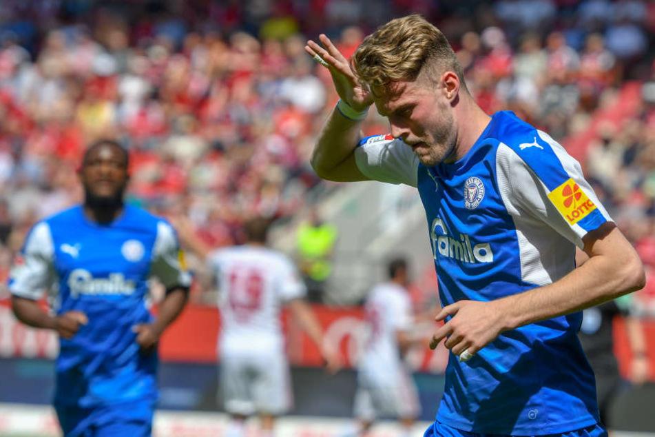 Stürmer Marvin Ducksch geht kommende Saison wohl für die Fortuna auf Torejagd.
