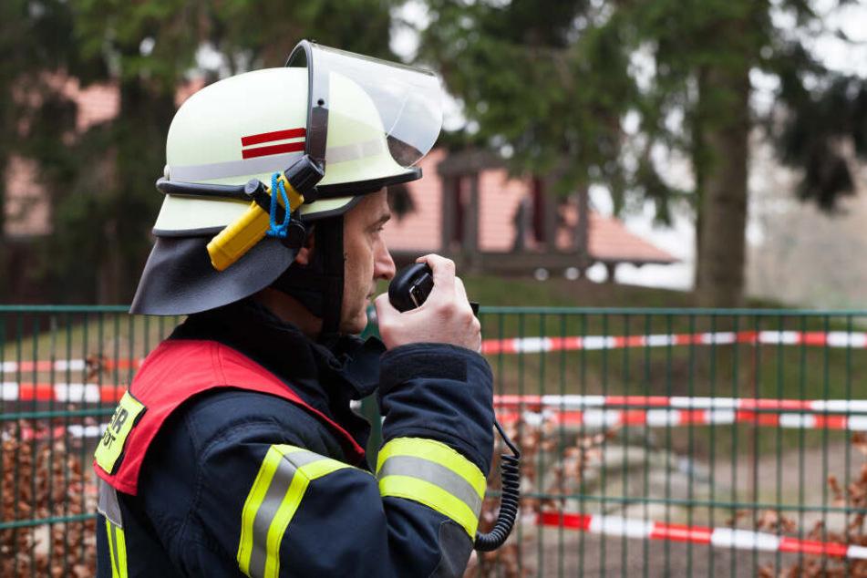 Als die Feuerwehr am Hotel eintraf, hatten Mitarbeiter den Brand schon gelöscht. (Symbolbild)