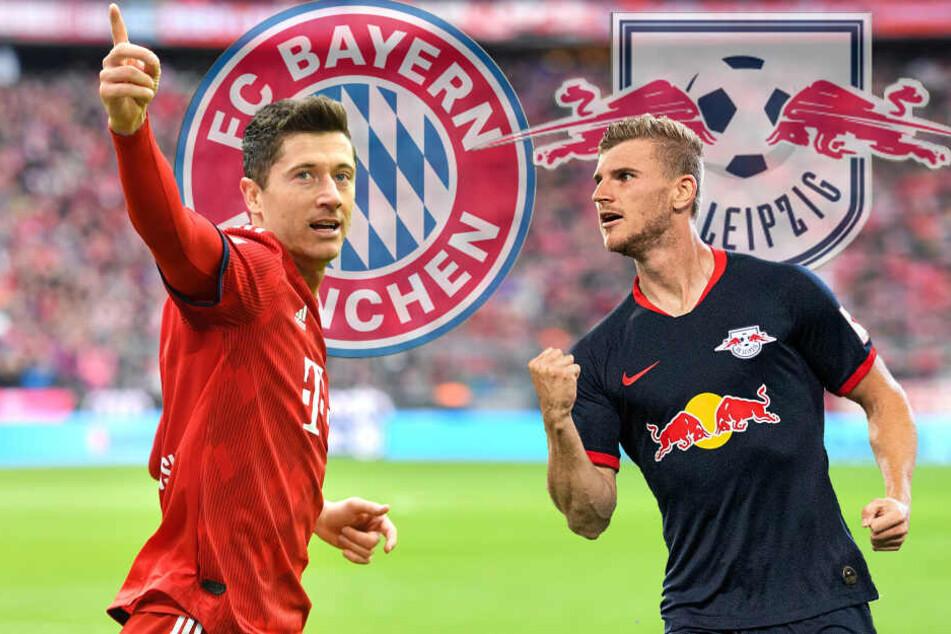 Lewandowski gegen Werner: Das Ergebnis am Samstag könnte knapp werden.