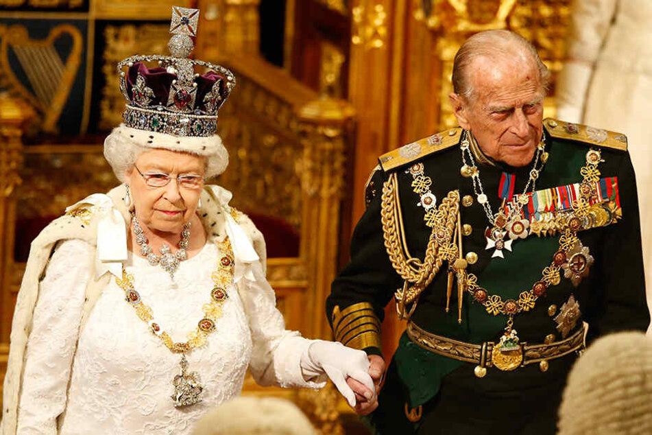 Seit 66 Jahren ist Queen Elizabeth Königin - immer an ihrer Seite ist Prinz Philip.