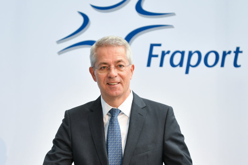 Vorstandschef Stefan Schulte hat gut Lachen: Fraport legte im Jahr 2017 enorm zu.