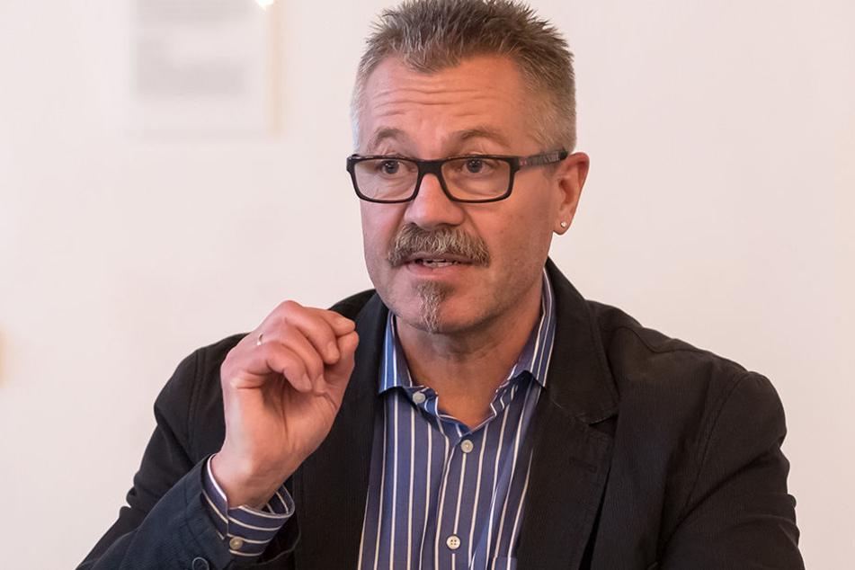 Insgesamt ist die Lage in der Innenstadt ruhig, so Ordnungsbürgermeister Miko Runkel (56, parteilos).