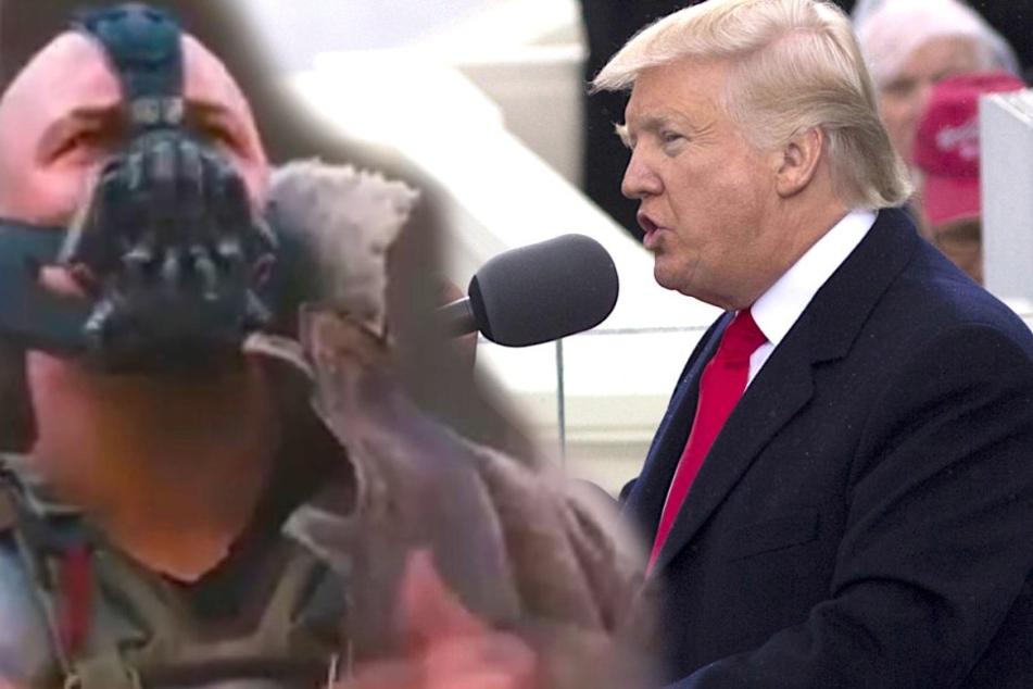 Hat Trump in seiner Rede bei Batman-Bösewicht geklaut?