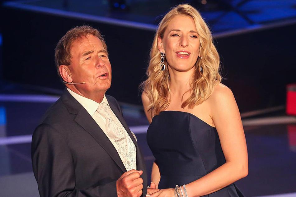 Stefanie Hertel (39) singt mit ihrem Vater Eberhard ein Duett. Beide Künstler sind in der Schlager- und Volksmusikszene seit Jahrzehnten feste Größen.