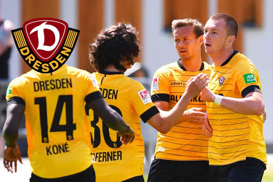 Dynamo gewinnt dank doppeltem Duljevic Testspiel gegen Haching!