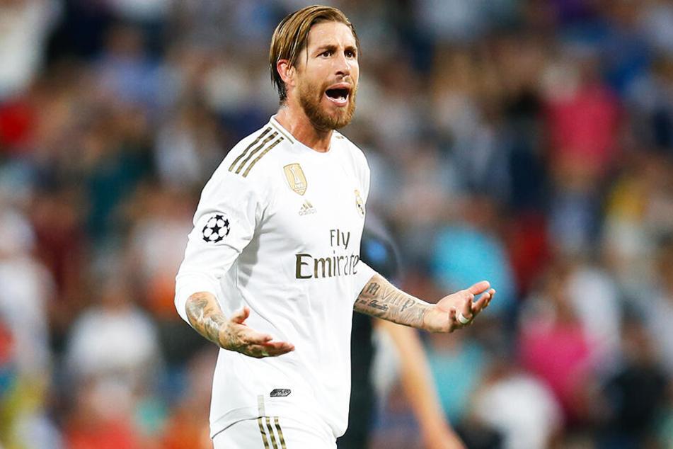 Real-Kapitän Sergio Ramos und seine Königlichen wurden nach dem 2:2 gegen den FC Brügge kritisiert.