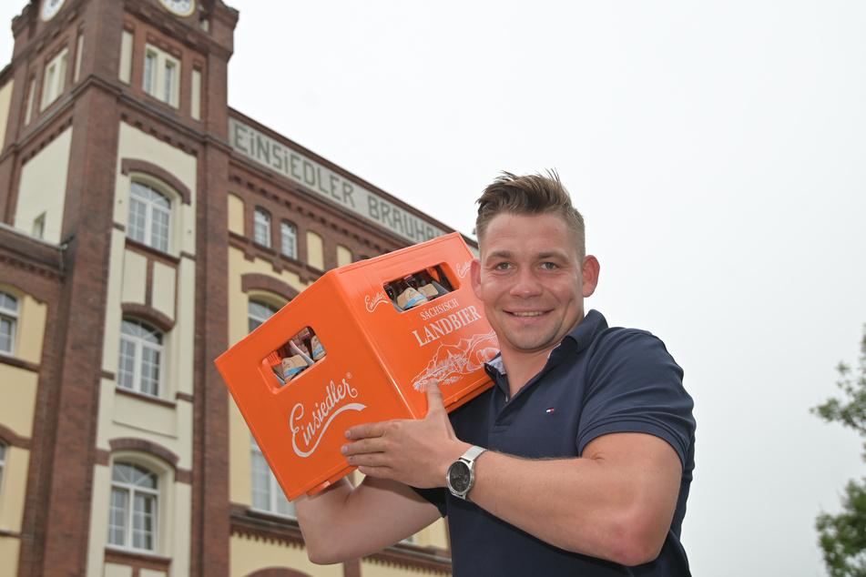 Willy Stößer (31) vom Einsiedler Brauhaus hofft, dass die Gastronomie bald wieder zu alter Stärke zurückfindet.