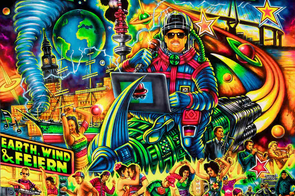 "Das Cover des Albums ""Earth, Wind & Feiern"" des Hamburger Rappers Jan Delay (undatierte Aufnahme)."