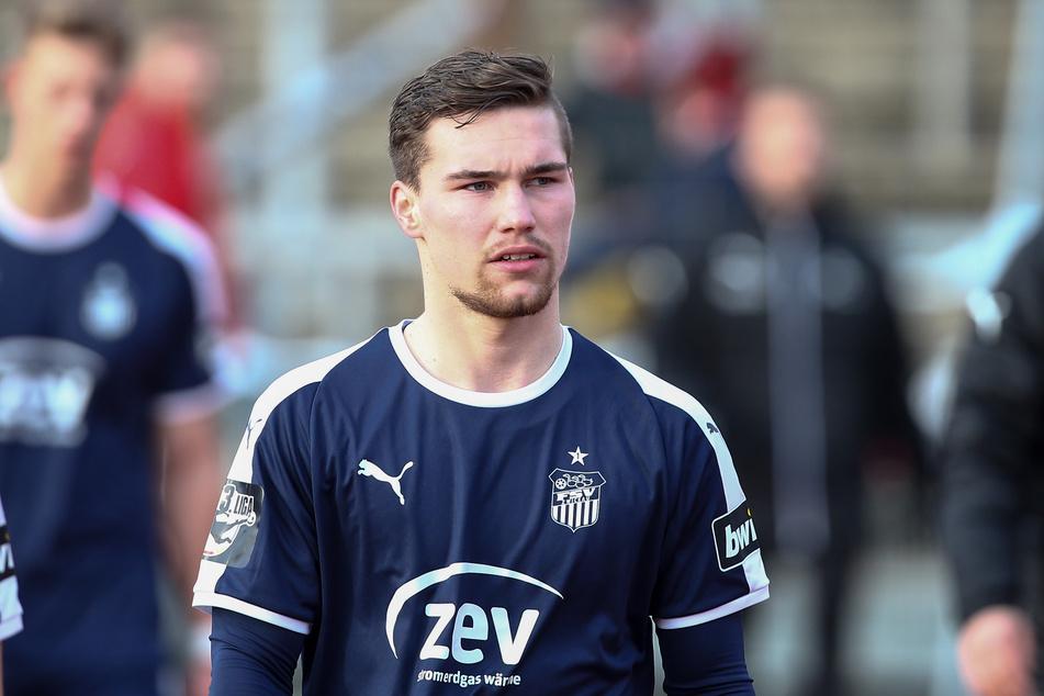 Für den FSV Zwickau bestritt Anthony Barylla (23) 62 Drittligaeinsätze.