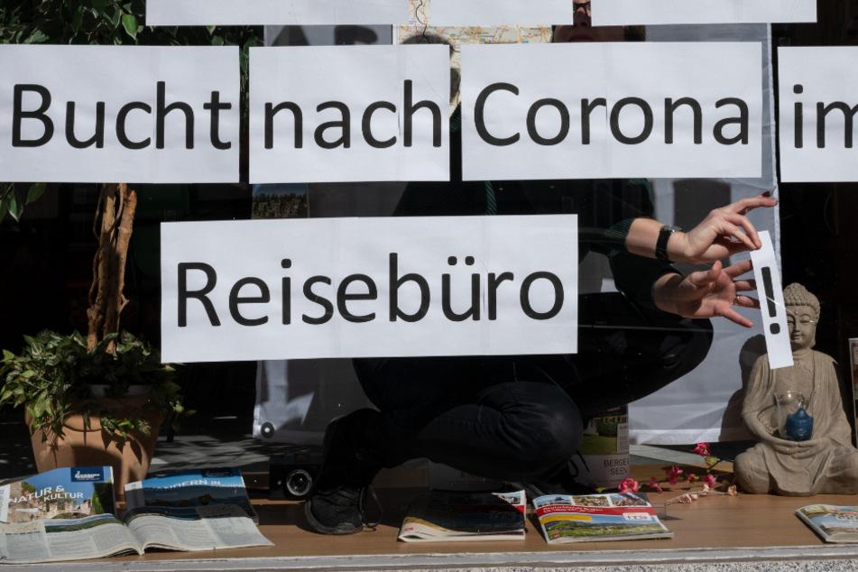 Viele Reisebüros stehen aufgrund von Corona vor dem Aus. (Symbolbild)
