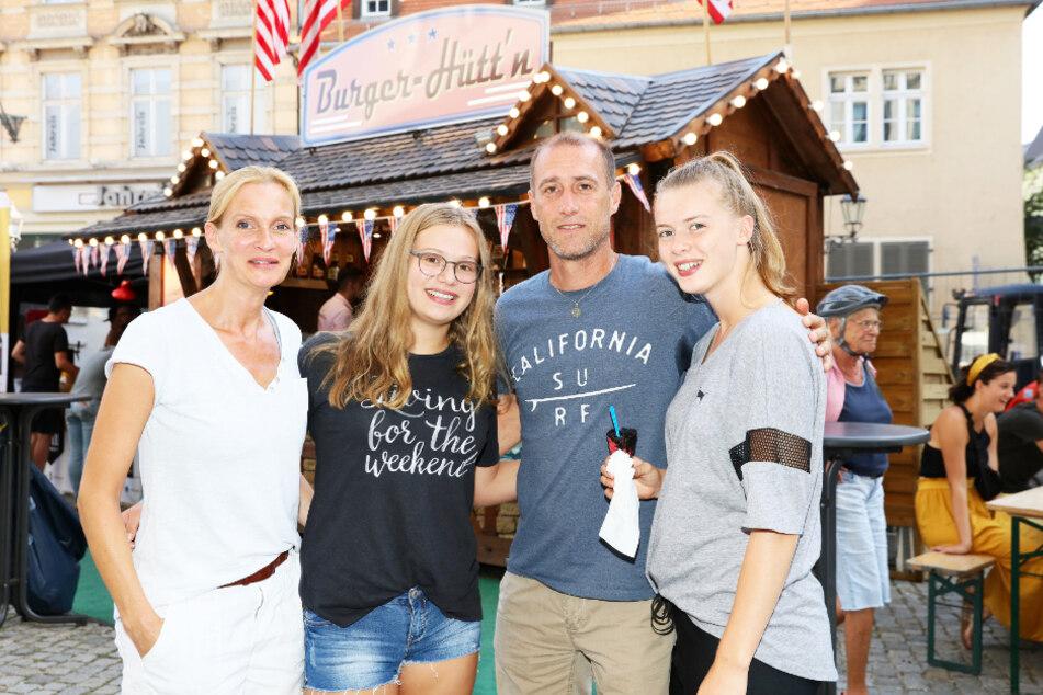 Familie Enochs (v.l.): Ehefrau Gunilla, Tochter Sophie, Joe und Tochter Emily, die derzeit in den Staaten studiert.
