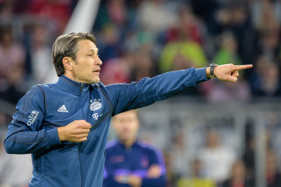Kann Trainer Niko Kovac vom FC Bayern München auch bald Sané dirigieren?