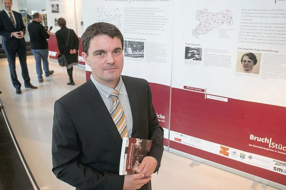 Historiker Daniel Ristau (38).