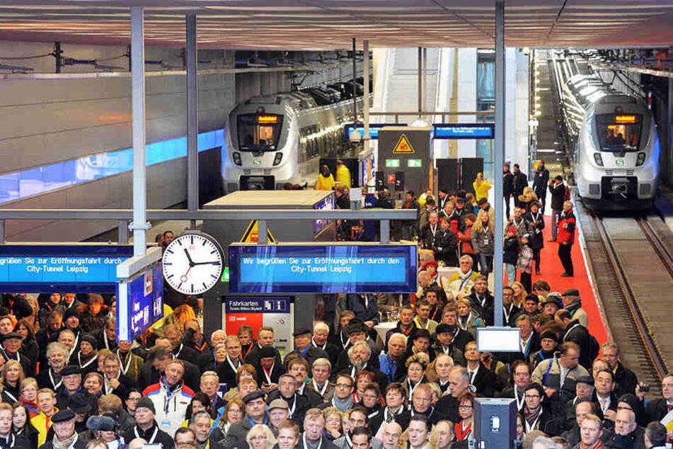 Der Freistaat Sachsen will den zweiten Citytunnel in Leipzig unterstützen.
