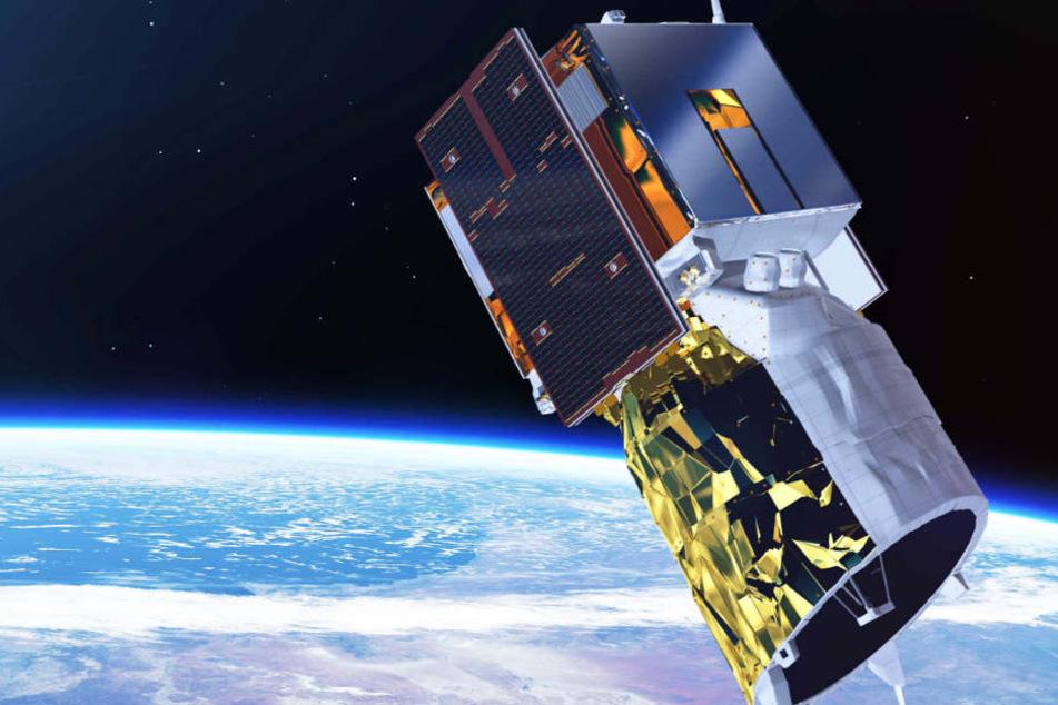 """Im August wurde der Satellit """"Aeolus"""" ins All gebracht."""
