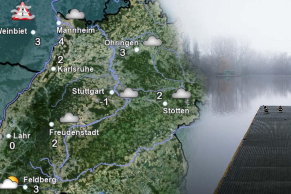 So wird das Wetter in Baden-Württemberg. (Fotomontage)