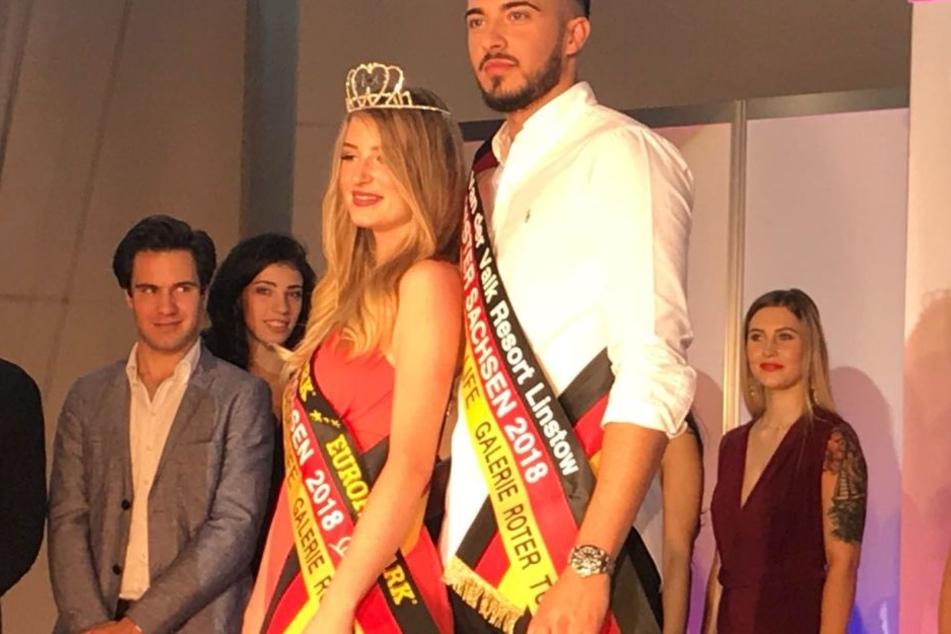 Edison Hoti (22) und Nastassja Bittner (19) gewannen den Wettbewerb in Chemnitz.