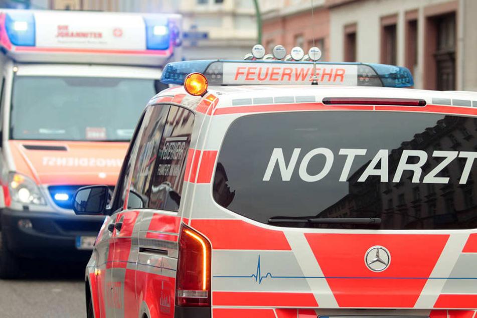 Eine Frau wurde im Vogtlandkreis schwer verletzt.