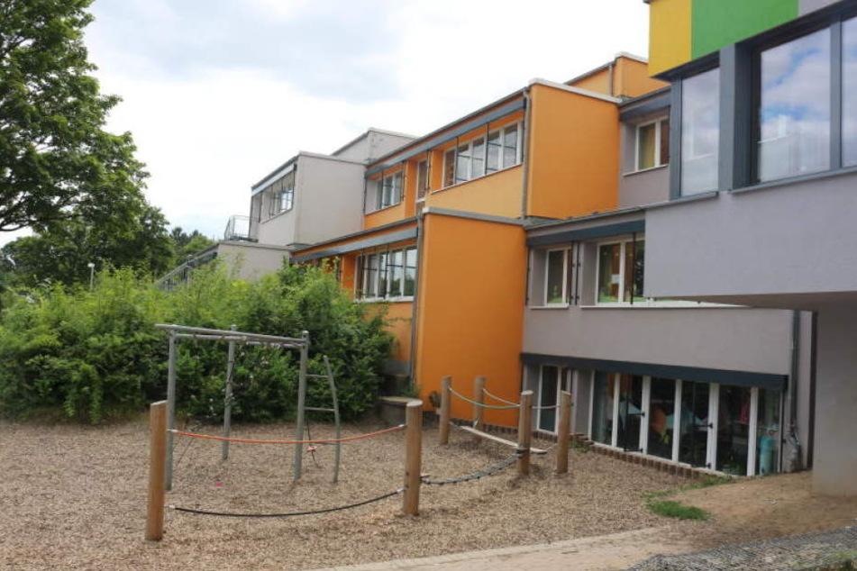 Der Spielplatz am Schulzentrum ist nach der Schulzeit öffentlich zugänglich.