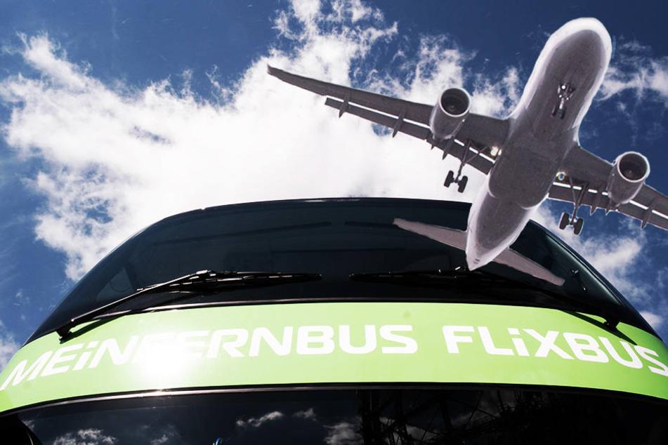 Flixbus bringt Urlauber jetzt von Dresden und Leipzig direkt nach Tegel