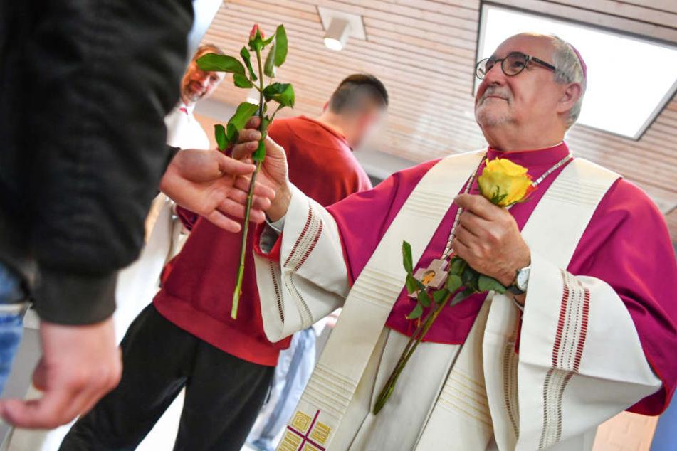 Hier besuchten Bischöfe Knackis an Heiligabend