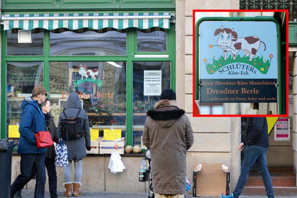 Schlüters Käseeck an der Rothenburger Straße öffnet am Samstag ein letztes Mal die Tür.