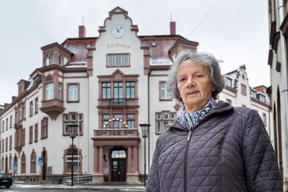 Städtefusion im Erzgebirge: 77-Jährige wird Bürgermeisterin