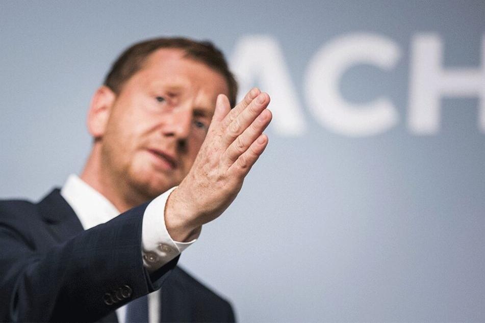 Ministerpräsident Michael Kretschmer (44, CDU) distanziert sich scharf von der AfD.