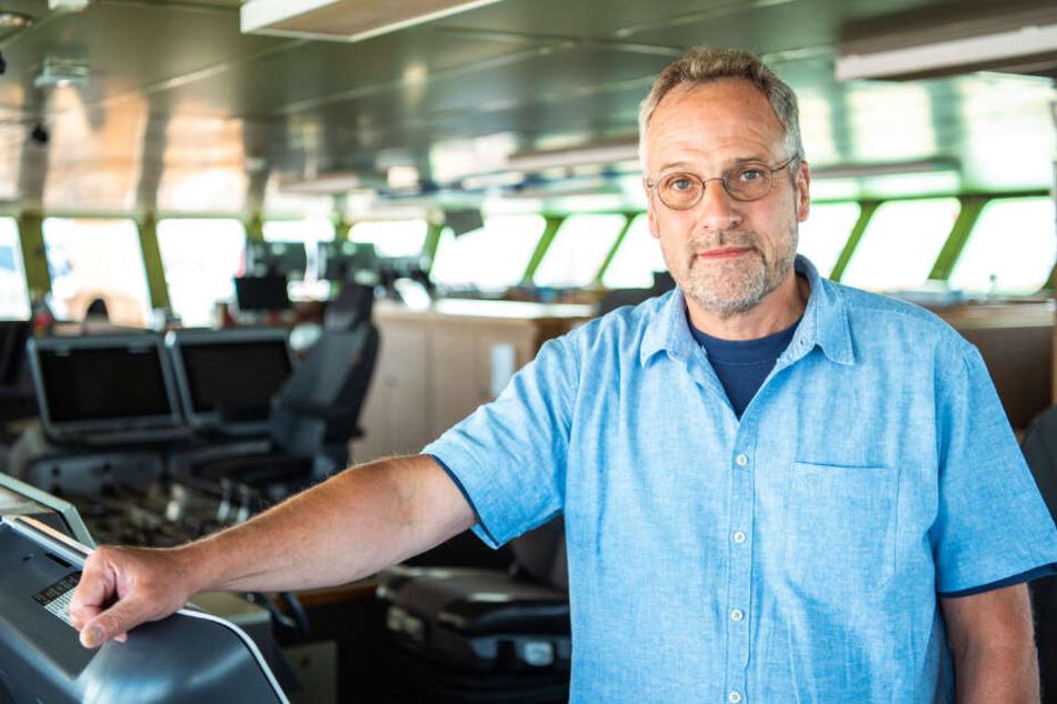 """Stefan Schwarze ist Kapitän des Forschungsschiffes """"Polarstern""""."""