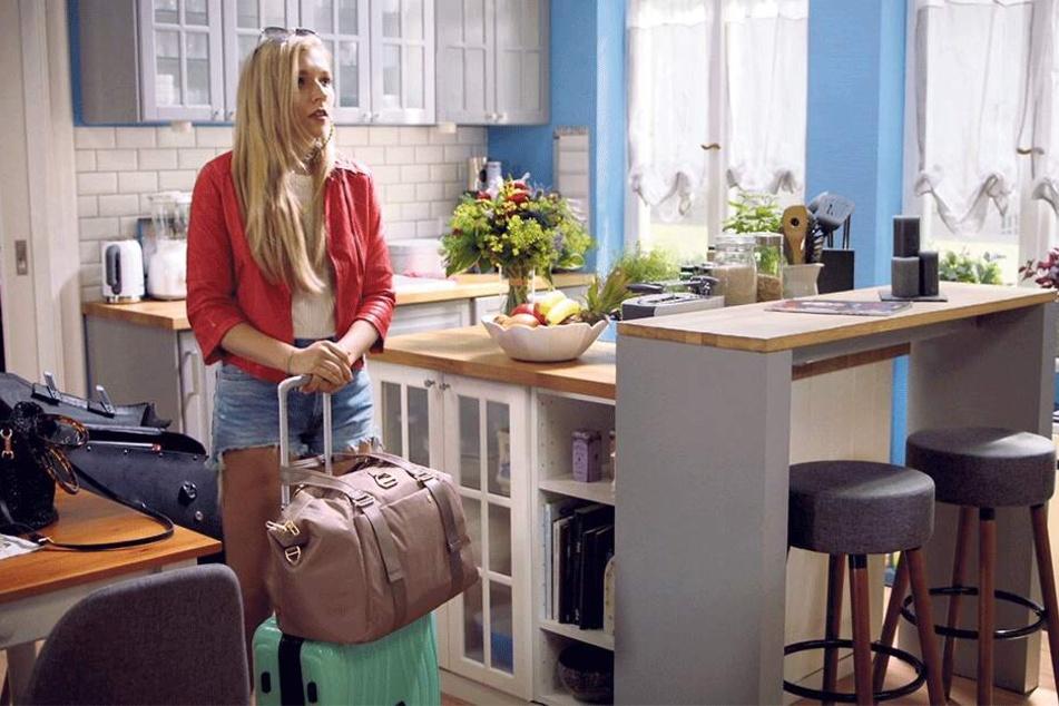 Sie hat noch einen Koffer bei GZSZ: Die gebürtige Bautznerin Annabella Zetsch (26) alias Brenda Schubert gehört wieder zur Stammbesetzung der RTL-Vorabendserie.